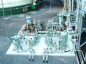 ヒーター地上設備配管ユニット