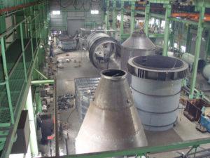 工場制作風景